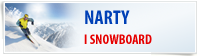 Narty, snowboard