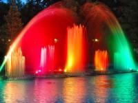 Kolorowa fontanna