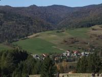 Pieszy szlak turystyczny - szlak do schroniska na Przehybie.