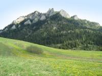 Pieszy szlak turystyczny - szlak na szczy Trzech Koron przez Sokolicę