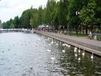 Bulwar nad Jeziorem Drwęckim