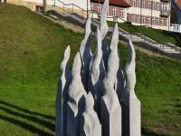 Mrągowo - wyrzeźbione miasto