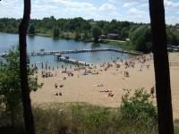 Plaża miejska nad Jeziorem Drwęckim