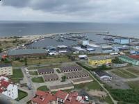 Port morski i falochron