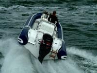 Rejsy ekstremalne łodziami typu RIB