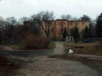 Ruiny pałacu Białobrzezie