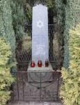 Pomnik w miejscu dawnej synagogi
